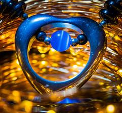 Heart jewerly (Kerry Wright2013) Tags: macro macromondays heart jewerly light golden omdem5markii