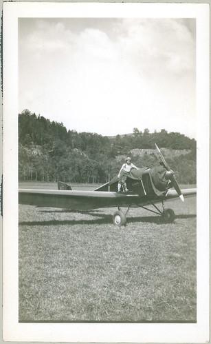 Bud on an Aeromarine