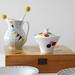 Sugar bowl from my new lots of dots series by Ninainvorm