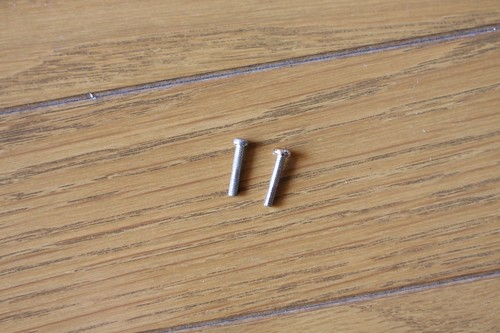 Bridge mounting screw