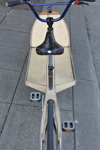 Plywood cargo bike-6