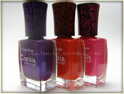 Vintage Violet, Cherry Smash, Fuschia Shock
