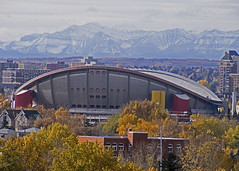 Saddledome (PhotoMimir) Tags: calgary hockey saddledome flames arena calgaryflames pengrowthsaddledome