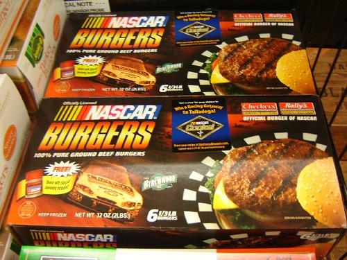 NASCAR burger.