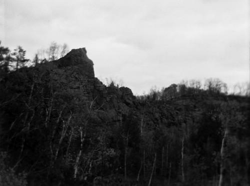 abandoned garnet quarry
