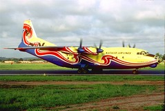 Natalco Airlines, Antonov An.12, TN-AHD PNR (photo Jacques Guillem) (AlainDurand) Tags: africa airlines nco airliners freighters od antonov pointenoire antonovan12 congobrazzaville airlinesoftheworld alaindurand propeliners airlinesofafrica jacquesguillem natalcoairlines airlinesofcongobrazzaville tnahd