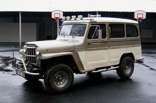 Jeep willys wagon modele 1958,