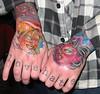 Hand Tattoos love / hate