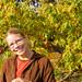 Deb at Kew in autumn