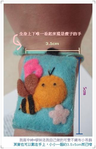 高中學妹手作的可愛蜜蜂掛飾(3)