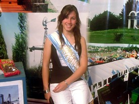 Gimena Giorgetti 1ra. Princesa Fiesta Nacional del Maní