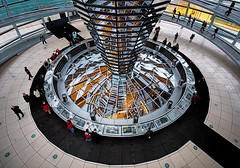 """reichstag : dome at dusk • <a style=""""font-size:0.8em;"""" href=""""http://www.flickr.com/photos/75475694@N00/2039835237/"""" target=""""_blank"""">View on Flickr</a>"""
