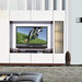 Michael Wall Unit for Table Top TV