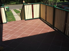 Ballustrades done (RichardKinder) Tags: woodwork deck ballustrade