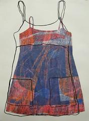 sketch, dress #12 state 2, 2007