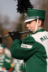 Maloney Flutist (apdonovan) Tags: highschoolfootball football thanksgiving maloney platt stoddardbowl meridenct meriden highschool spartans flute flutist panthers francistmaloney orvillehplatt marchingband band highschoolband ef70200mmf4l canoneosdigitalrebelxti