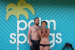 knd at palm springs (kozyndan) Tags: bear newzealand hot dan pool beard turqouise palm bikini springs tacky kozyndan kozy
