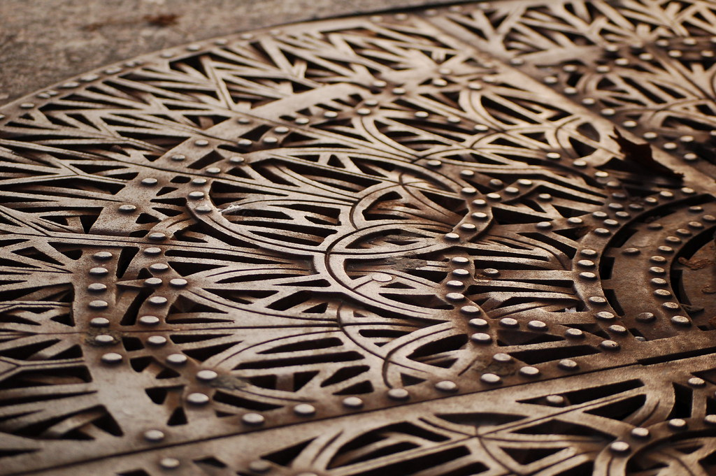 decorative grate