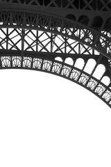 curves and lines (Ms_evinrude) Tags: travel bw paris france arch tour details monotone infrastructure effieltower