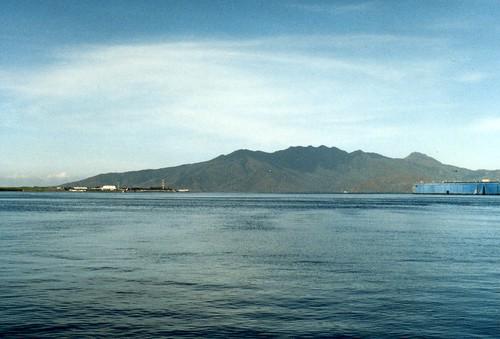 Subic Bay Naval Base 1990.