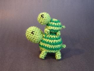 Ravelry tiny striped turtle pattern by kristiemn dt1010fo