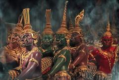 Samudra Manthan (fesign) Tags: thailand bangkok hinduism bangkokairport fesign suvarnabhumi perfectangle istvankadar samudramanthan thechurningoftheoceanofmilk