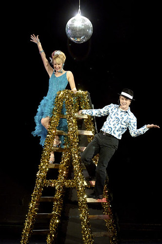 Ryan and Sharpay's callback (one of the HSM promo photos circulating)