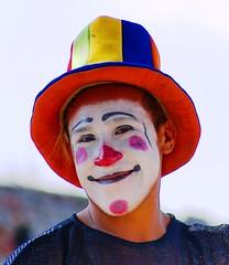 Sombrero de Colores (Jesus Guzman-Moya) Tags: portrait man colors hat mexico retrato clown colores sombrero puebla payaso hombre chuchogm mywinners jesúsguzmánmoya platinumphoto colorphotoaward