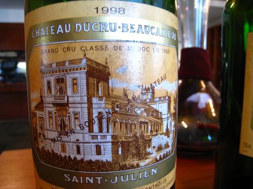 Ch. Ducru-Beaucaillou 1998 - Magnum.JPG