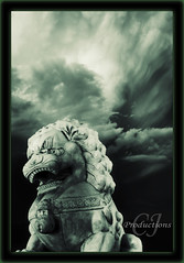 Chinese Lion (Cody-James) Tags: china sky copyright canada calgary japan photoshop work studio photography james claire high student nikon gate eau artist photographer dragon dynamic photoshopped acid chinese lion down christian alberta cj blended lions stare banff cody portfolio nikkor studios bliss canmore range hdr staredown sait blending keeper chineselion keepers blends txb acidify cgy teamxbox d80 christianphotographer acidified calgaryphotographer photoshopper nikonphotographer codyjames cjproductions staredownstudios albertaphotographer codyjamesphotography wwwcodyjamesca calgaryalbertaphotographer nikkorphotographer codyjamesca httpcodyjamesca