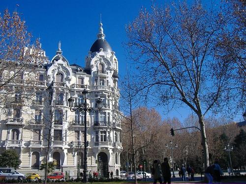 Madrid primavera en pleno invierno