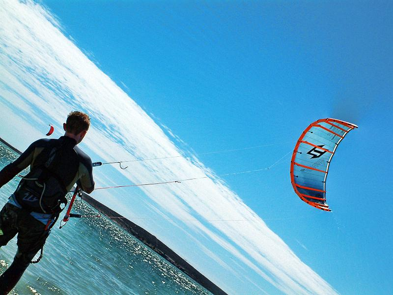 Charlie the kite surfer 2