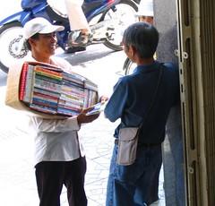Vietnam bookseller