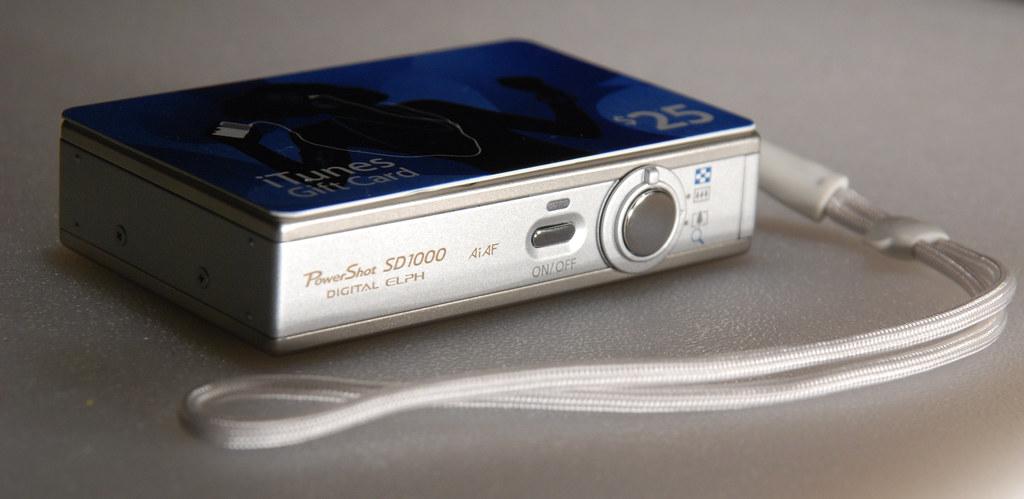 Canon Powershot SD1000 size comparisons