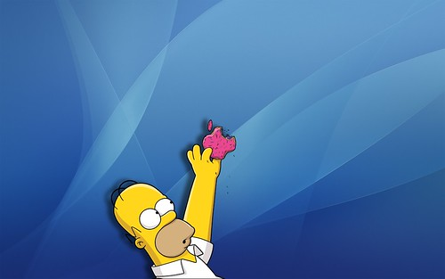 the simpsons wallpaper. Problemi di routing · Invidia · The Simpsons OSX Wallpaper