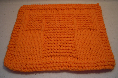 Not Your Ordinary Knitted Dishcloth | Simple Days