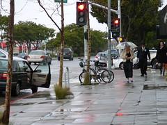 232/366: Street scene (dalefarwalker) Tags: rain elcerrito project365