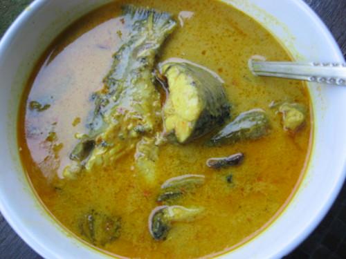 ikan jelawat masak lemak