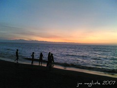 Reggae Sunset (swooshkidjm) Tags: sunset summer beach beautiful landscape philippines scene tropical reggae iligan iligancity vencelynresort