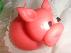 (Capability Breen) Tags: pink rabbit bunny easter pig marzipan