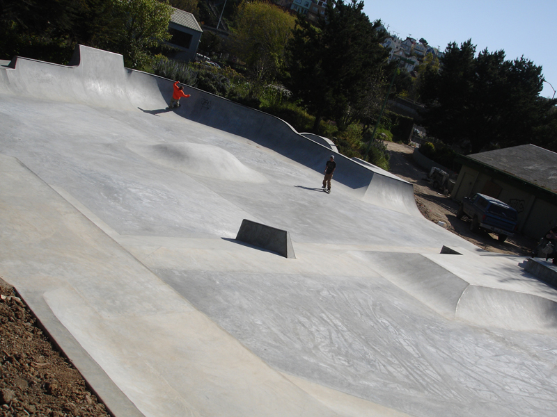 sf skatepark ish.