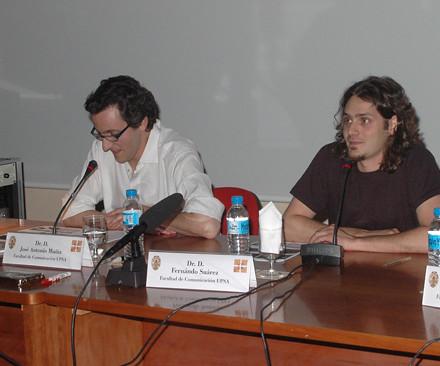 Fernando Suárez y José Antonio Muñiz