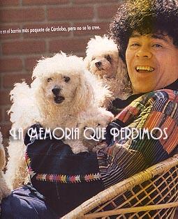 La Mona Gimenez y sus caniches