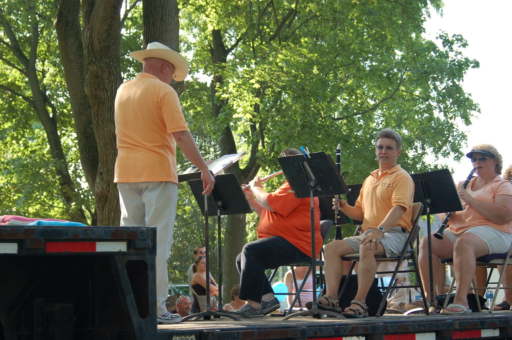 Manchester Civic Band at Fun Fest 2006