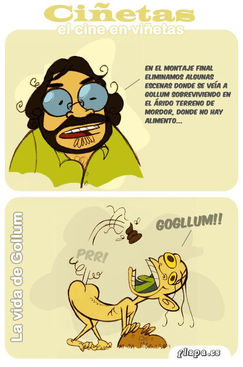 Parodia de Gollum
