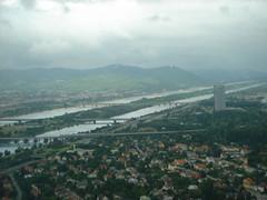 Vienna (SaudiSoul) Tags: vienna wien bridge cloud nature river austria danube donau النمسا غيوم سحاب غيم سحب نهر طبيعه فيينا