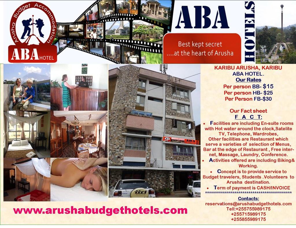 ABA HOTEL FACT SHEET.