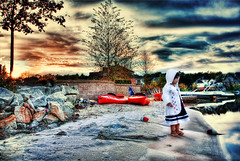 .Icey cool. (mylaphotography) Tags: sunset art beach hdr rahi childphotography jaber 2470mm flickrsbest 40d mylaphotography fairytalephotography