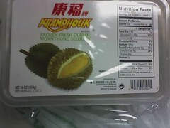 Packaged Durian
