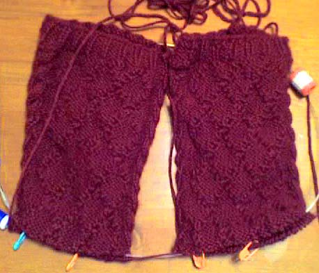 Drops Cable Alpaca Socks - Front